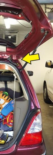Honda Odyssey Rear Wiper And Boot Lock Fault